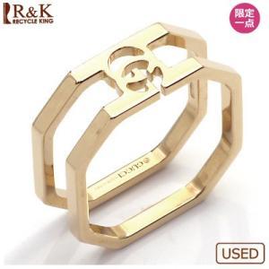 グッチ リング 指輪 レディース 18金 K18PG GUCCI 10.5号 #11 ピンクゴールド BJ * 女性 かわいい オシャレ 中古 ring 価格見直し rk-y