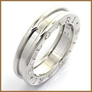 ブルガリ リング 指輪 レディース 18金 K18WG BVLGARI 7号 #47 ホワイトゴールド BJ * 女性 かわいい オシャレ 中古 ring 価格見直し|rk-y
