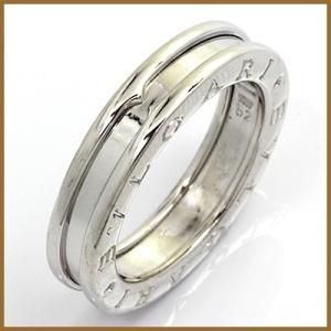 ブルガリ リング 指輪 レディース 18金 K18WG BVLGARI 12号 #52 ホワイトゴールド BJ * 女性 かわいい オシャレ 中古 ring 価格見直し|rk-y
