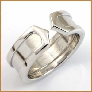 カルティエ リング 指輪 レディース 18金 K18WG Cartier 7号 #47 BJ * 女性 かわいい オシャレ 中古 ring 価格見直し|rk-y