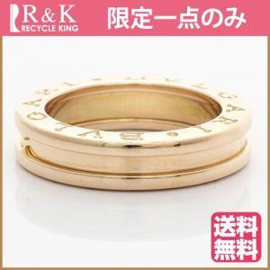 ブルガリ リング 指輪 レディース 18金 K18PG BVLGARI B ZERO1 ビーゼロワン 9号 #49 BJ ** 中古 ring 価格見直し|rk-y