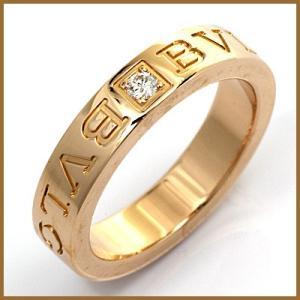 5c7debe57a82 ブルガリ リング 指輪 レディース 18金 K18PG ダイヤモンド BVLGARI 8.5号 ピンクゴールド BJ * 中古 ring 価格見直し