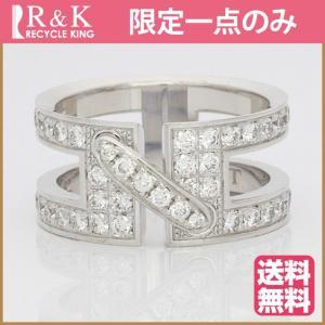 ショーメ リング レディース 指輪 18金 K18WG CHAUMET ダイヤモンド リアンドゥ 12号 #52 BJ * 中古 ring 価格見直し|rk-y