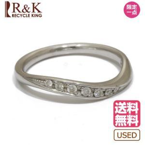 4℃ ヨンドシー リング 指輪 18金 ホワイトゴールド K18WG ダイヤモンド 11.5号 18K レディース メンズ おしゃれ 中古|rk-y