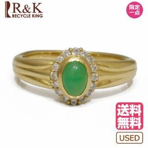 ヴァンドーム青山 リング 指輪 レディース 18金 ダイヤモンド VENDOME AOYAMA K18 クリソプレーズ 12号 ゴールド 18K 中古|rk-y