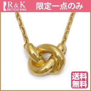 デザイン ネックレス レディース 18金 K18 18K ゴールド 中古 necklace 価格見直し|rk-y