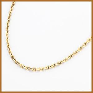 デザインネックレス レディース 18金 K18 チェーン アズキ 小豆 女性 かわいい オシャレ 中古 necklace 価格見直し|rk-y