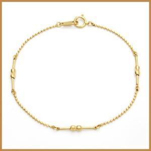 ブレスレット レディース 18金 K18 18K 女性 かわいい おしゃれ 中古 bracelet 価格見直し|rk-y