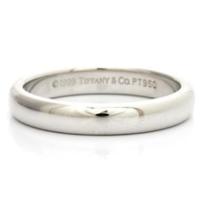 ティファニー リング 指輪 レディース プラチナ PT950 TIFFANY&CO. 7.5号 BJ * かわいい オシャレ 中古 ring 価格見直し|rk-y