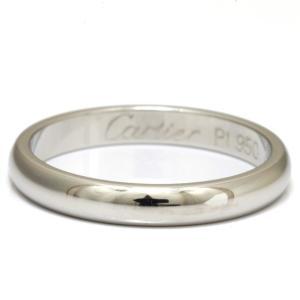 カルティエ Cartier リング 指輪 レディース PT950 プラチナ #47 7号 メンズ 女性 男性 かわいい おしゃれ BJ *中古 ring|rk-y