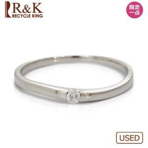リング 指輪 レディース プラチナ PT900 ダイヤモンド D0.05 12号 女性 アクセサリー 中古 ring 価格見直し|rk-y