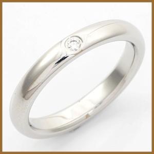 ティファニー リング 指輪 レディース プラチナ PT950 ダイヤモンド TIFFANY&CO. 8.5号 BJ * かわいい おしゃれ 中古 ring 価格見直し|rk-y