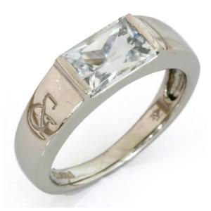 リング 指輪 レディース プラチナ PT900 トパーズ * かわいい おしゃれ 中古 ring 価格見直し|rk-y