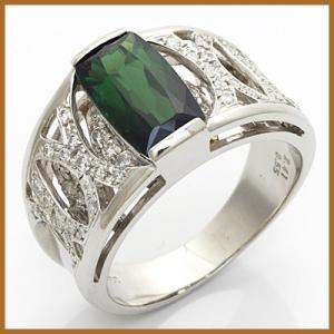 リング 指輪 レディース プラチナ PT900 ダイヤモンド D0.55 トルマリン かわいい おしゃれ 中古 ring 価格見直し|rk-y
