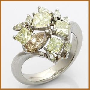 リング 指輪 レディース プラチナ PT900 ダイヤモンド D2.05 かわいい おしゃれ 中古 ring 価格見直し|rk-y