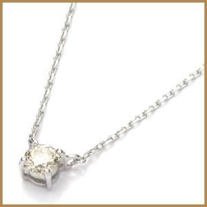 ネックレス レディース 18金 K18WG ダイヤモンド ダイヤ かわいい おしゃれ 中古 necklace 価格見直し rk-y