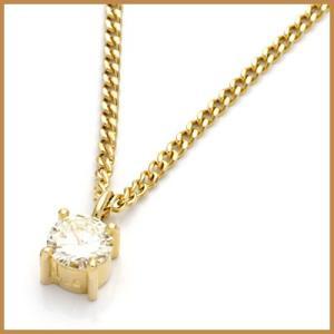 ネックレス レディース 18金 K18 ダイヤモンド D0.20 * かわいい おしゃれ 中古 necklace 価格見直し|rk-y