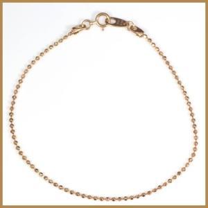 ブレスレット レディース 10金 ピンクゴールド K10PG かわいい おしゃれ 中古 bracelet 価格見直し|rk-y