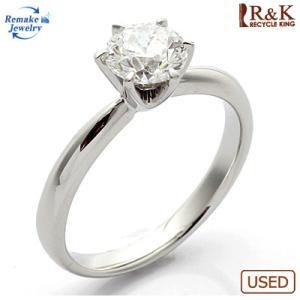 リング 指輪 レディース プラチナ PT900 ダイヤモンド D1.010 リメイクジュエリー 新品地金 おしゃれ 中古 ring 価格見直し|rk-y