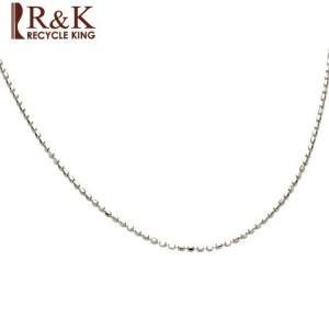 ネックレス レディース 10金 K10WG カットボールチェーン ホワイトゴールド 10K メンズ おしゃれ かわいい ギフト プレゼント necklace 新品 rk-y