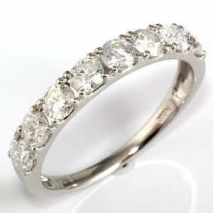 リング レディース 指輪 ハーフエタニティ D1.00 1ct プラチナ PT900 ダイヤモンド 新品 女性 かわいい オシャレ rk-y
