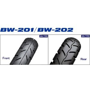 ブリヂストン BATTLE WING BW202 4.60-18 63P WT リア|rmax