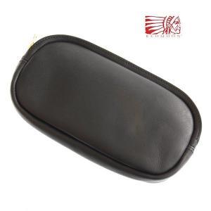 レッドムーン 財布  REDMOON ポーチ BAGLET ウォレット オイルレザー ブラック スマホケース|rmismfukuoka