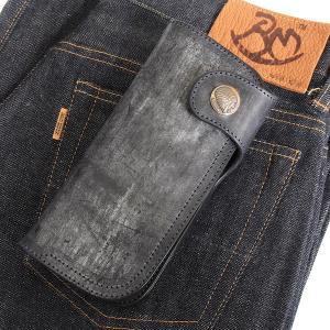 レッドムーン 財布 REDMOON ロングウォレット BD-CW02SVZ シルバーコイン ブライドルレザー BNV/SBK 限定商品|rmismfukuoka