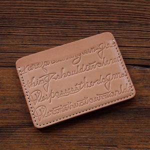 レッドムーン カードケース   CE-LC  サドルレザー  カリグラフィー  エンボス加工REDMOON レターパックプラス対応商品|rmismfukuoka