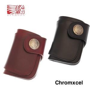 レッドムーン 財布 REDMOON ハーフウォレット CX-LW01-A30 クロムエクセル 30mmコンチョ サドルレザー ウォレット rmismfukuoka