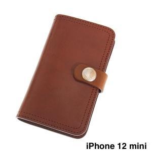 レッドムーン スマートフォンケース REDMOON RM-IPC-12mini  iPhone12mini用  手帳型 サドルレザー iPhoneケース|rmismfukuoka
