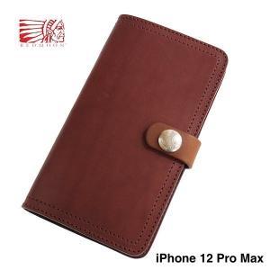 レッドムーン スマートフォンケース REDMOON RM-IPC-12ProMax用  手帳型 iPhoneケース サドルレザー|rmismfukuoka