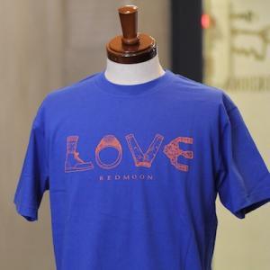 レッドムーン Tシャツ REDMOON RM-T09 ブルー アメカジ|rmismfukuoka