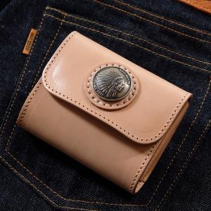 レッドムーン 財布 REDMOON ハーフウォレット THW03-A30 30mmコンチョ レザーウォレット|rmismfukuoka