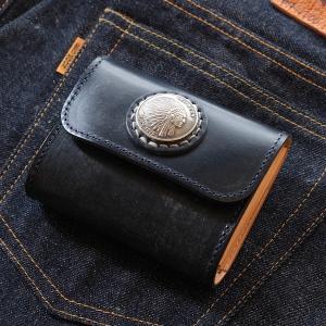 レッドムーン 財布 REDMOON ハーフウォレット THW03-A30-BD ブライドルレザー  BNV/SNTカラー|rmismfukuoka