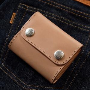 レッドムーン 財布 REDMOON ハーフウォレット THW03-TW  オリジナルボタン レザーウォレット|rmismfukuoka