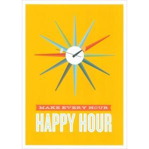 アートポスター(フレーム付) HAPPY HOUR|rmjapan