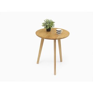 Ramo(ラーモ) ラウンドテーブル オーク材 カフェテーブル 北欧|rmjapan