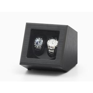 ABIES カペラ ワインディングマシーン 2本巻 エボニー×ブラック 1年保証 腕時計用ケース 収納|rmjapan|19