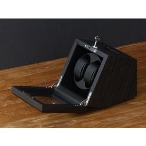 ABIES カペラ ワインディングマシーン 2本巻 エボニー×ブラック 1年保証 腕時計用ケース 収納|rmjapan|20