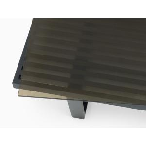 ネルソンベンチ用 ガラス天板 スモーク 120サイズ 8mm強化ガラス|rmjapan