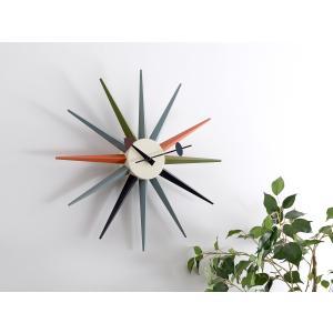 サンバーストクロック マルチ ジョージ・ネルソン 掛時計 ネルソンクロック|rmjapan