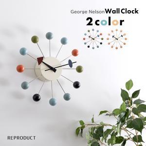 ボールクロック マルチカラー ジョージ・ネルソン 掛時計 ネルソンクロック|rmjapan