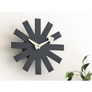 アスタリスククロック ブラック ジョージ・ネルソン 掛時計 ネルソンクロック|rmjapan