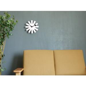 アスタリスククロック ホワイト ジョージ・ネルソン 掛時計 ネルソンクロック|rmjapan