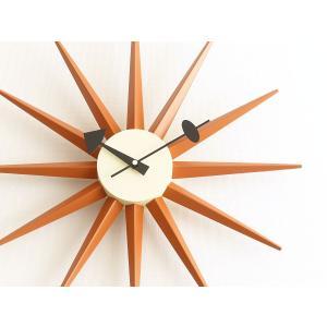 サンバーストクロック オレンジ ジョージ・ネルソン 掛時計 ネルソンクロック|rmjapan