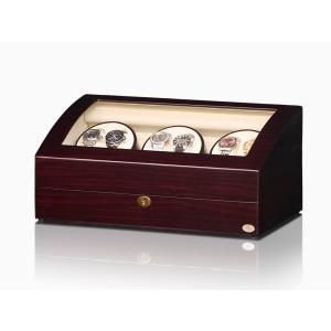 ABIES アビエス ワインディングマシーン 6本巻 ゼブラウッド 1年保証 腕時計用ケース 収納|rmjapan