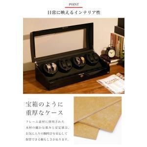 ABIES アビエス ワインディングマシーン 8本巻 ブラック×ブラック 1年保証 腕時計用ケース 収納|rmjapan|02