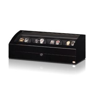 ABIES アビエス ワインディングマシーン 8本巻 ブラック×ブラック 1年保証 腕時計用ケース 収納|rmjapan|17