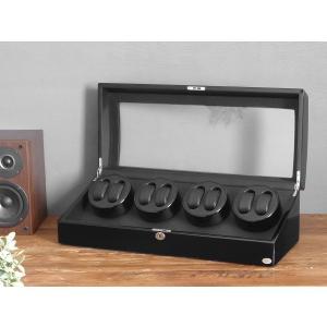 ABIES アビエス ワインディングマシーン 8本巻 ブラック×ブラック 1年保証 腕時計用ケース 収納|rmjapan|18